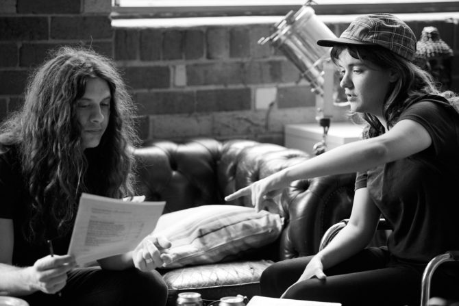 Kurt Vile & Courtney Barnett – Photos by Tom Ross